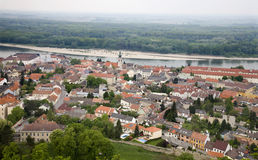 Hainburg an der Donau - outlook Stock Images