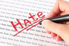 haine Photos libres de droits