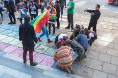 Haine d'atouts de solidarité image libre de droits