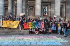 Haine d'atouts de solidarité photo libre de droits