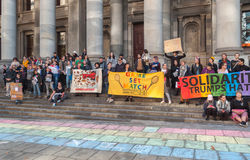 Haine d'atouts de solidarité photographie stock libre de droits