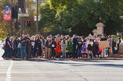 Haine d'atouts de solidarité photographie stock