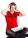 Haine de la musique Photos libres de droits