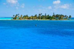 Haines岩礁在哥伦比亚的加勒比 免版税库存照片