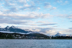 Haines Alaska at Sunrise Stock Images