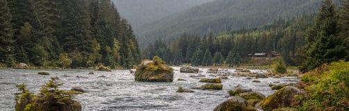 Haines chez l'Alaska Photo libre de droits