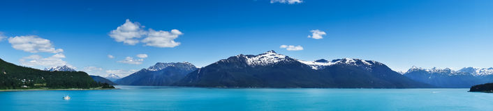 Haines city near Glacier Bay, Alaska, USA Stock Photos