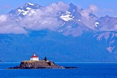 Haines Lighthouse fotografie stock