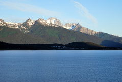 Haines from the Lynn Canal Alaska Royalty Free Stock Image