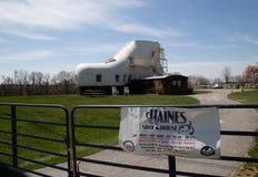 Haines Shoe House dans la PA de York Photo libre de droits