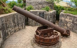 Ancient cannon stock images