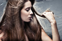 Hair Royalty Free Stock Photography