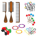 Hair accessories Stock Photography