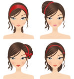 Hair Accessories Royalty Free Stock Images