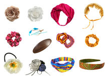 Hair accessories set Stock Image