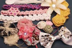 Hair accessories Royalty Free Stock Photography