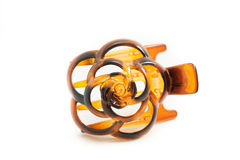Hair accessory: Tortoiseshell Barretta Royalty Free Stock Photo