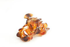 Hair accessory: Tortoiseshell Barretta Royalty Free Stock Photography