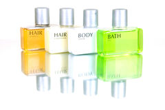 Hair And Body Products Stock Images
