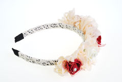 Hair band isolated on the white Royalty Free Stock Photography