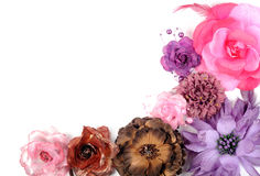 Hair bands flowers Royalty Free Stock Photo