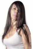 Hair Bangs Stock Images