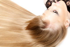 Hair beauty Stock Photos