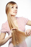 Hair beauty Royalty Free Stock Photo