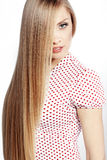 Hair beauty Stock Photography