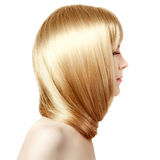 Hair. Beauty young woman with luxurious long blond hair. Girl wi Stock Photo