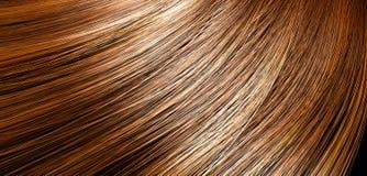 Hair Blowing Closeup Stock Images