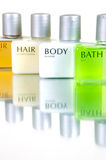 Hair And Body Products Royalty Free Stock Photo