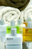 Hair And Body Products Stock Photography