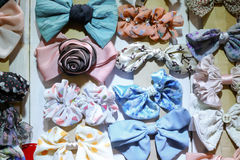Hair bow Royalty Free Stock Images
