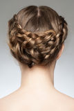 Hair Braid Royalty Free Stock Photos