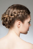 Hair Braid Stock Photos