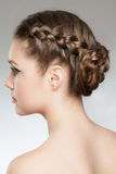Hair Braid Stock Images