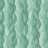 Hair braid seamless pattern. In colors is hand drawn nature-like composition. Illustration is in eps8 vector mode, background on separate layer royalty free illustration