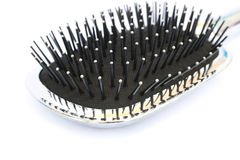 Hair brush. Isolated on whte background Stock Photography