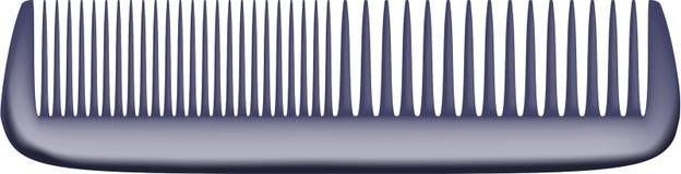 Hair brush. On a white background Stock Image