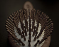Hair brush Stock Image