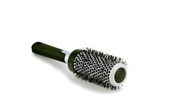 Hair brush (series 1). Isolated shot of a beauty palor hair brush Royalty Free Stock Photo