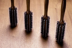 Hair brush stills Stock Photos