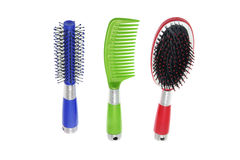Hair Brushes and Comb Stock Photos
