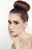 Hair bun Stock Photography