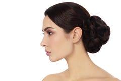 Hair bun Stock Image
