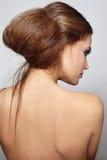 Hair bun Royalty Free Stock Images