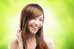 Hair care Royalty Free Stock Photography
