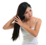 Hair care. Royalty Free Stock Photography