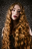 Hair care cosmetics royalty free stock images